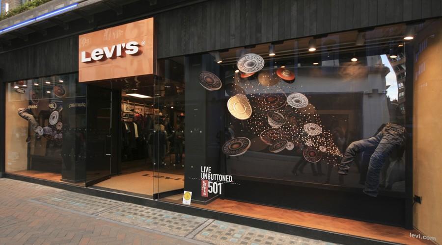 Levi's Storefront design, London