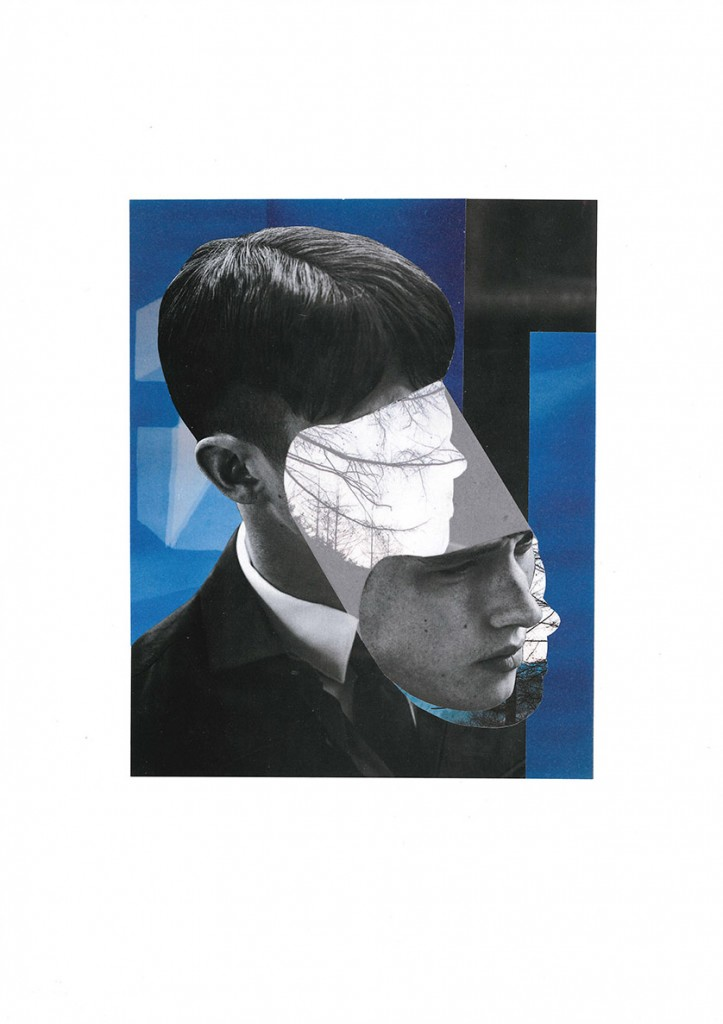 Collage 'MY MIND IS ELSEWHERE'