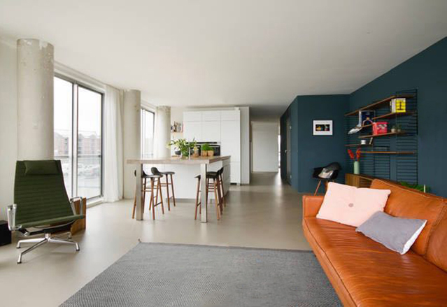 Amsterdam apartment Silodam