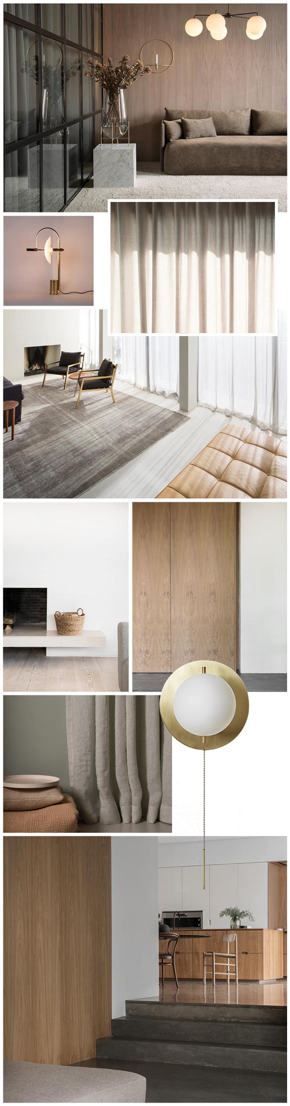 Moodboard gerenoveerd appartement